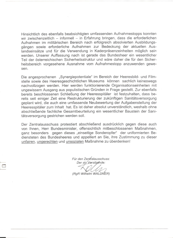 Offener Brief Beispiel Matura Ogt Offiziersgesellschaft Tirol